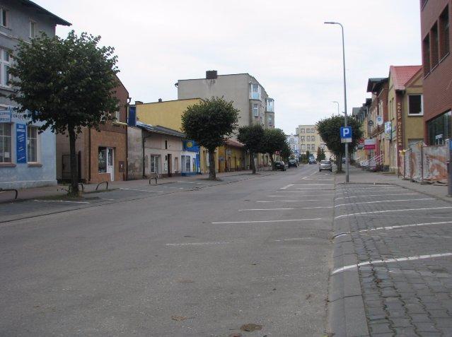 Parking przy ul.T. Kościuszki