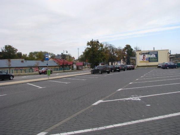 Parking przy ul.Kolejowej