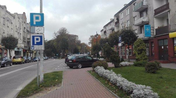 Parking przy ul. Parkowej
