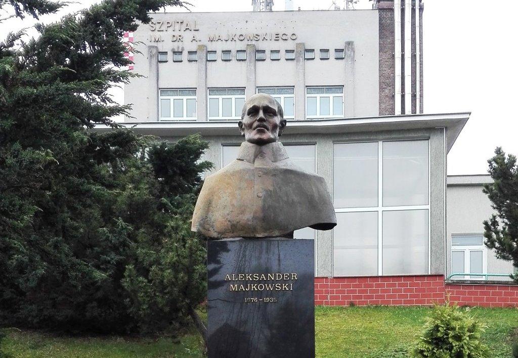 Pomnik dr Aleksandra Majkowskiego