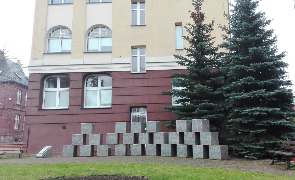 Pomnik upamiętniający wejście Polski do Unii Europejskiej