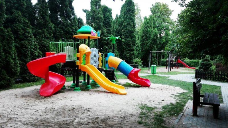 Plac zabaw przy ulicy A. Majkowskiego
