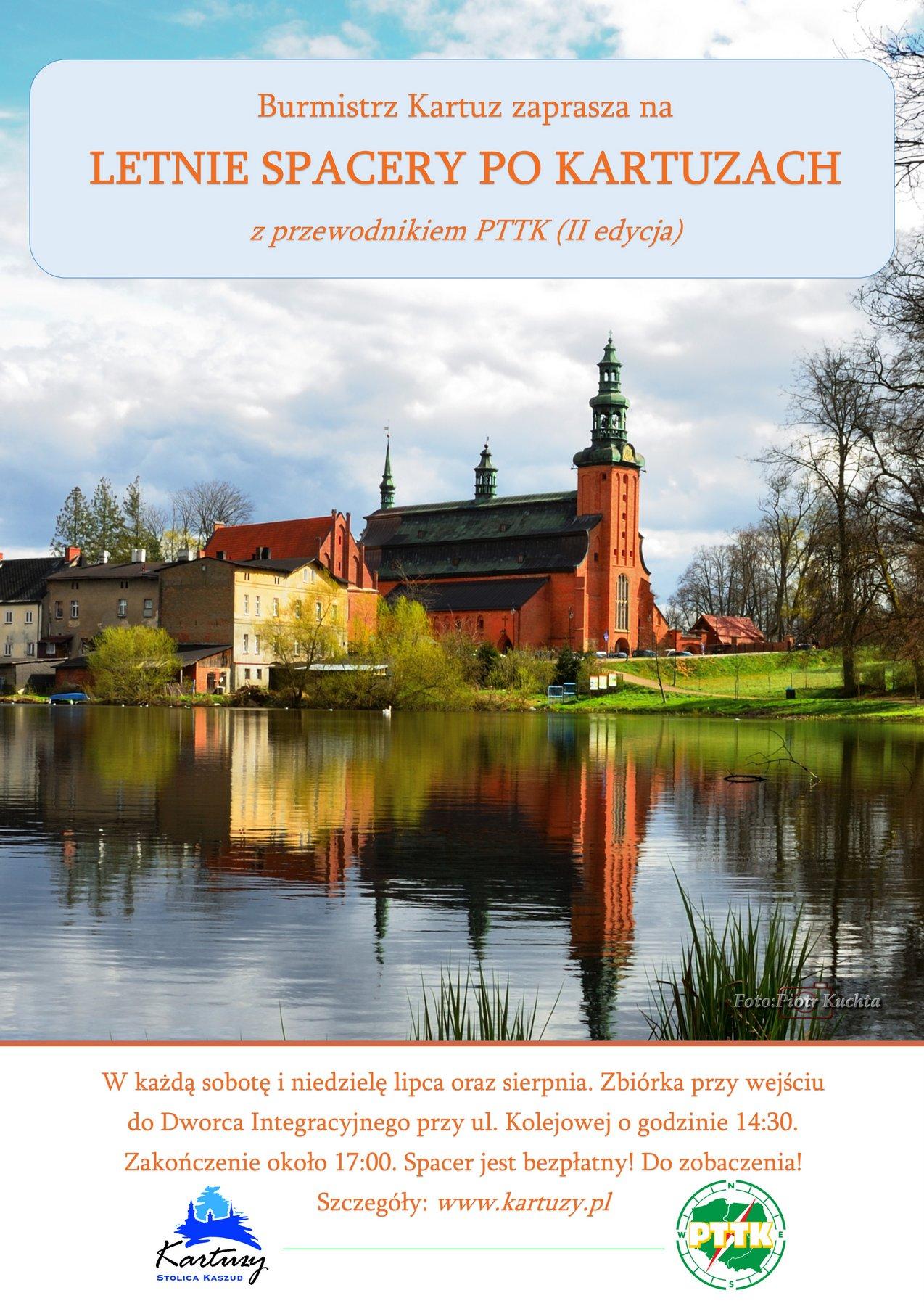 III Edycja - Letnie spacery po Kartuzach - lipiec, sierpień 2019