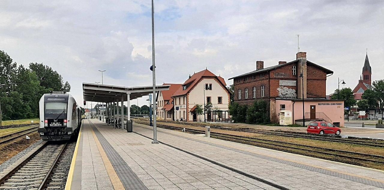 Podróż do Kartuz - pociągiem
